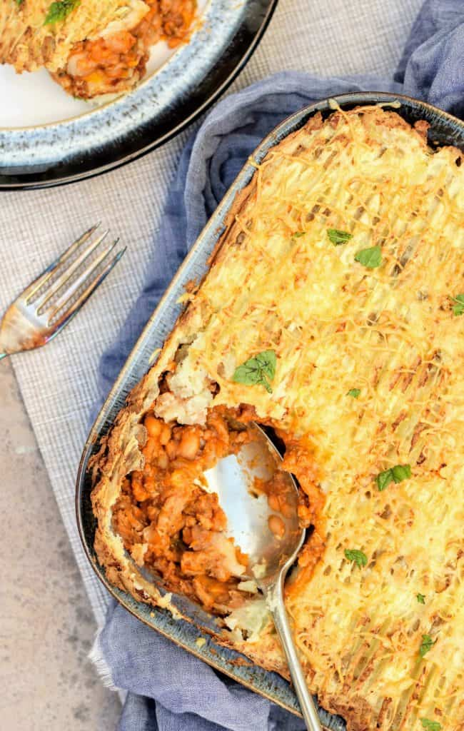 Slimming World Syn Free Pork & Bean Slow Cooker Cottage Pie