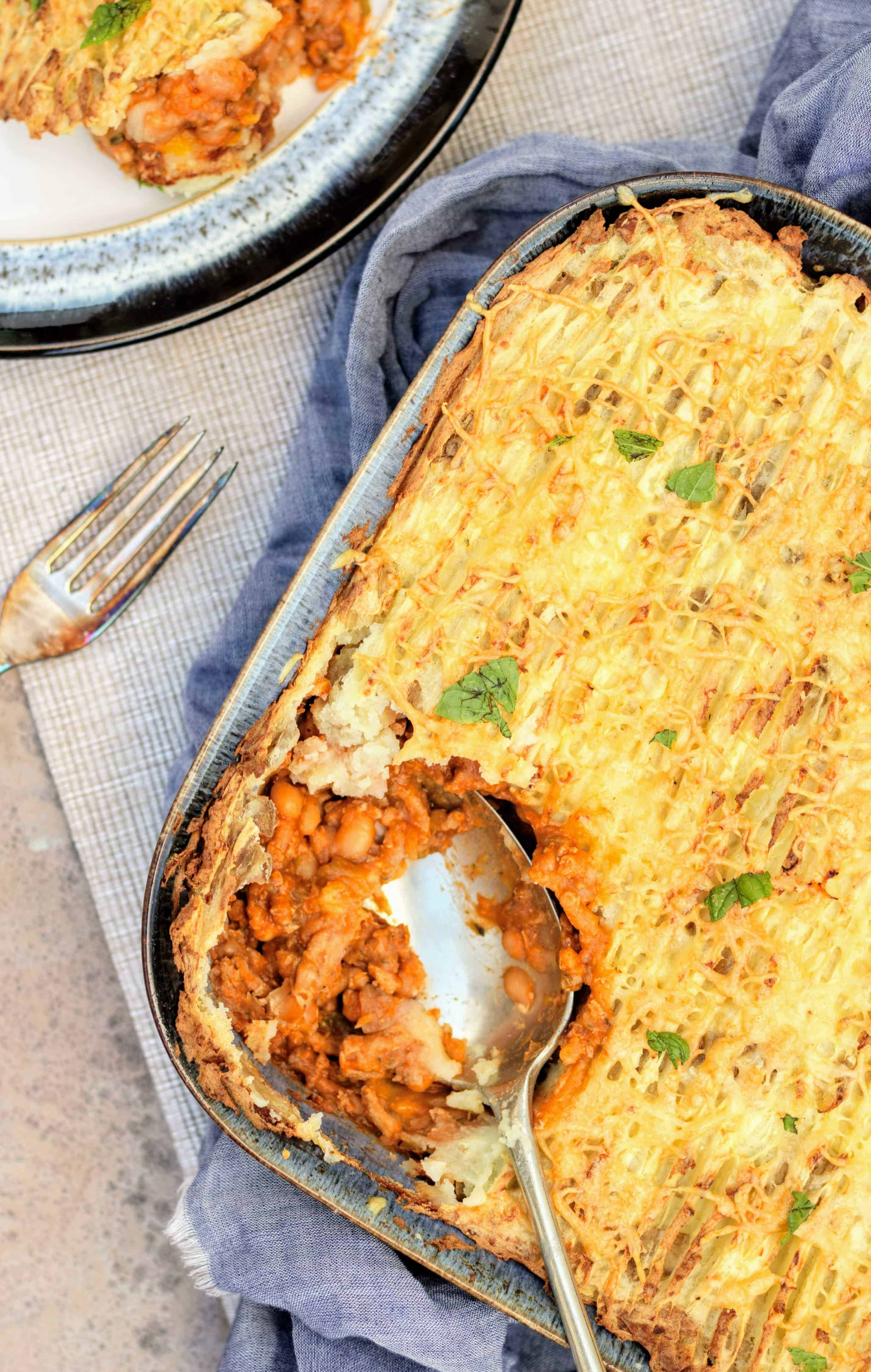 Slimming World Syn Free Pork & Bean Slow Cooker Cottage Pie