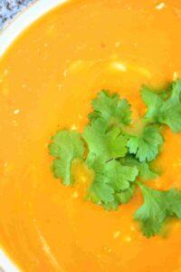 slimming world syn free butternut, chilli & ginger soup