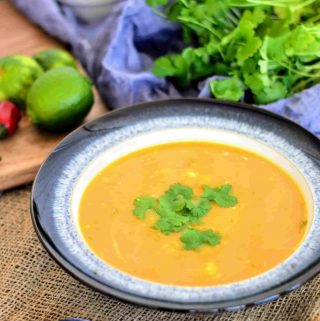 slimming world syn free butternut, chilli & ginger soup