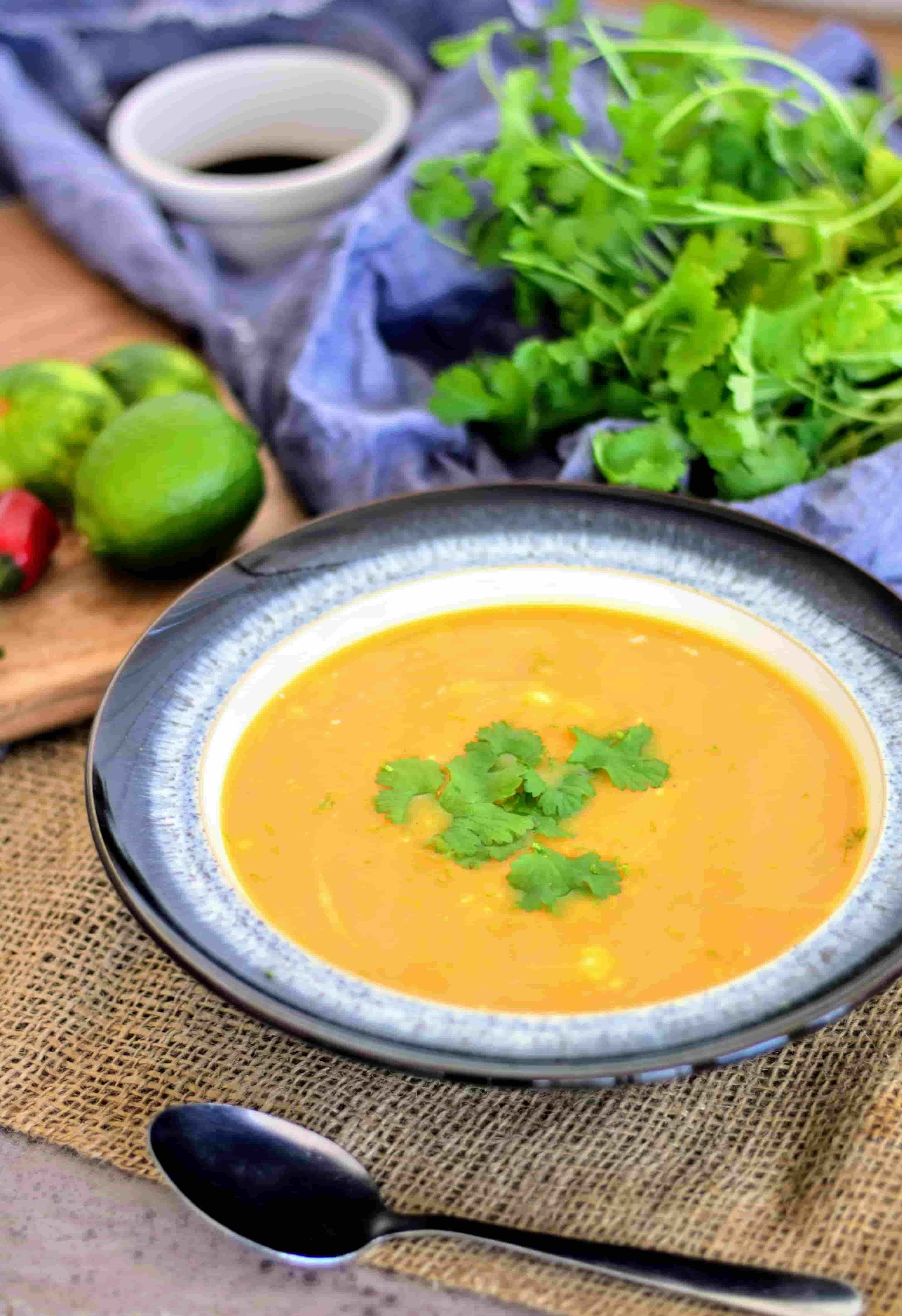 Slimming World Syn Free Butternut Squash Chilli Ginger Soup