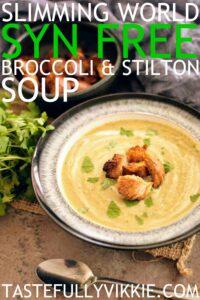 SLIMMING WORLD SYN FREE BROCCOLI STILTON SOUP