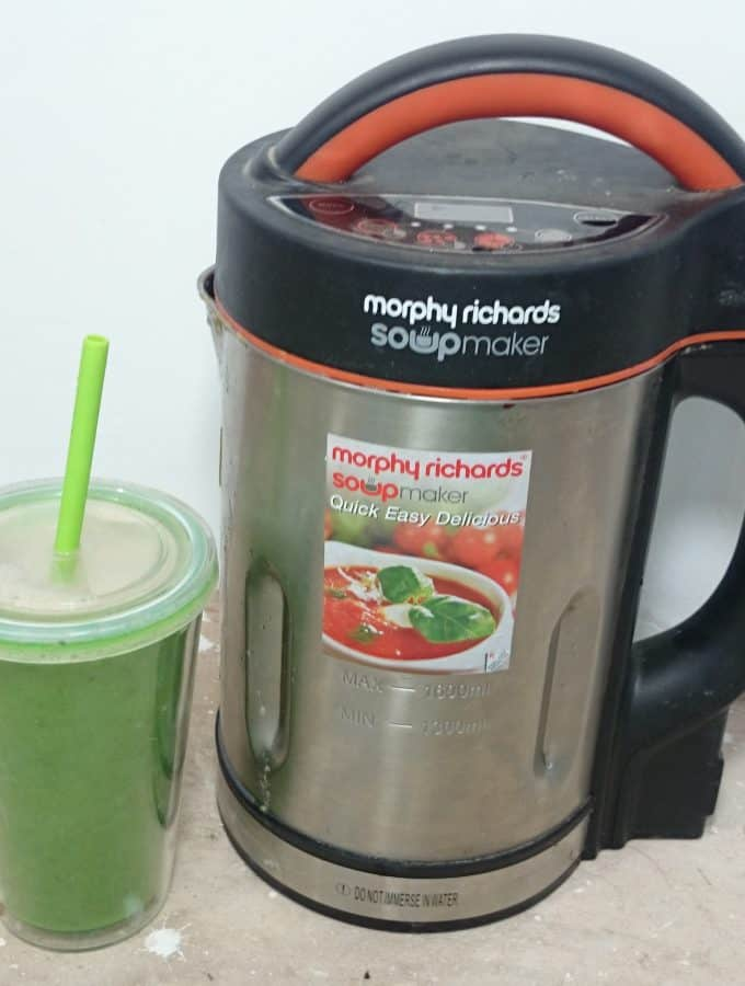 My Immune System Boosting Smoothie Recipe with the Morphy Richards Soup Maker - Vegan/Vegetarian