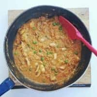 My Chicken & Lentil Red Thai Curry Recipe – SERVES 4