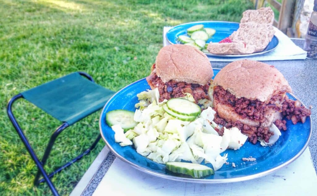 Syn Free Slimming World Friendly Sloppy Joes Recipe – Quick Camping Meals – MAKES 4