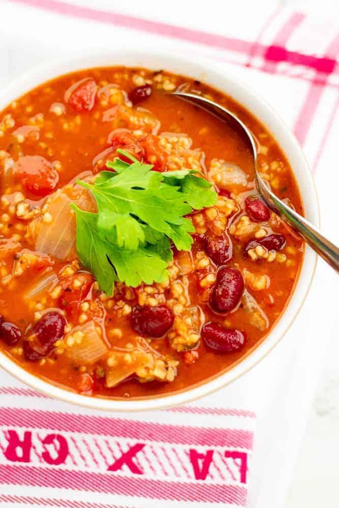 Slimming World No Weighing Tomato & Bean Soup Maker recipe