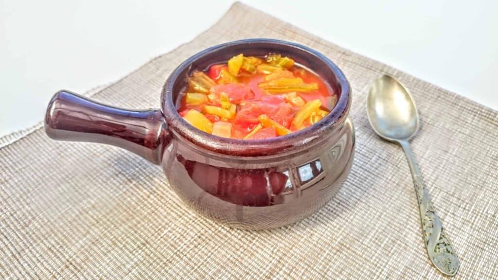 My Summery Italian Syn Free Chicken & Tomato Soup Maker & Pan Recipe - Slimming World Friendly