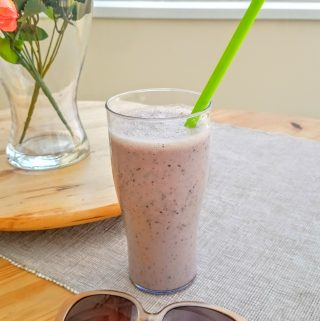 An Apple Skin a Day Keeps the Cancer Away Vegan Smoothie - Recipe Inspired by a BBC Documentary