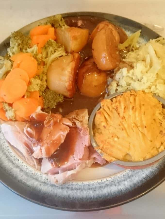 Syn Free Slimming World Friendly OXO Roast Potatoes Recipe for a Sunday Roast - Serves 4