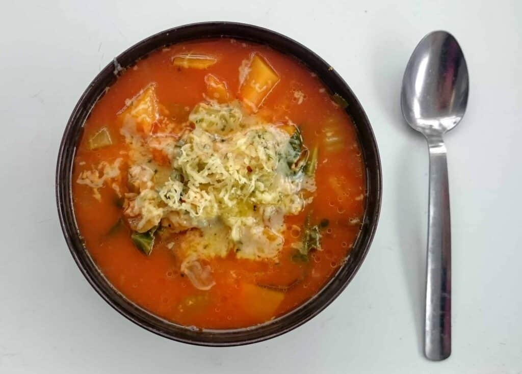 Butternut Squash, Tomato, Cabbage & Cheese Soup Recipe - Syn Free Slimming World Friendly