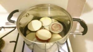 how to sterilise jars
