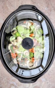 Slimming World Syn Free Slow Cooker Chicken & Leek Orzo Risotto