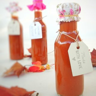 Homemade Lush Tomato Ketchup Gift Recipe - Christmas Idea
