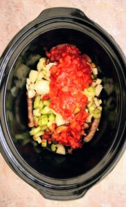 SLIMMING WORLD LOW SYN SAUSAGE & BEAN CASSEROLE