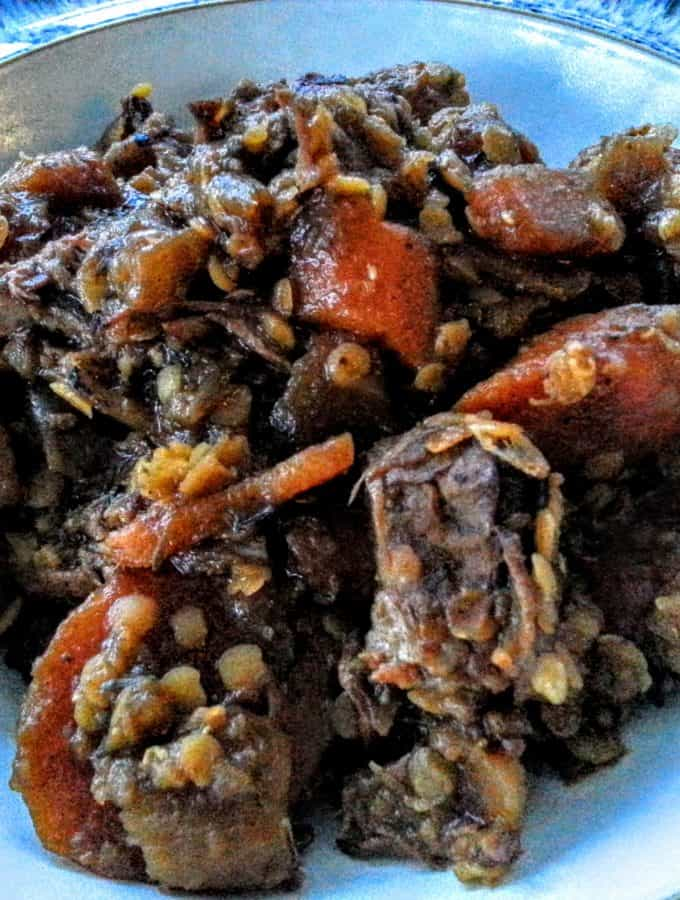 Slow Cooker Scotch Beef Stew Recipe - Syn Free Slimming World Friendly