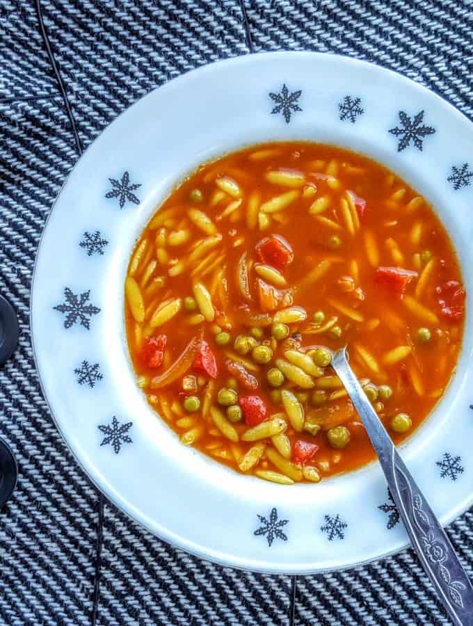Slimming World Syn Free Vegetable Biryani Soup Maker Recipe (Easy to Add Chicken)