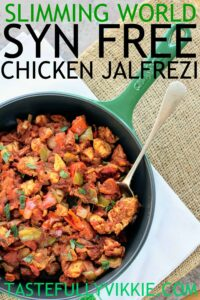 SLIMMING WORLD SYN FREE CHICKEN JALFREZI