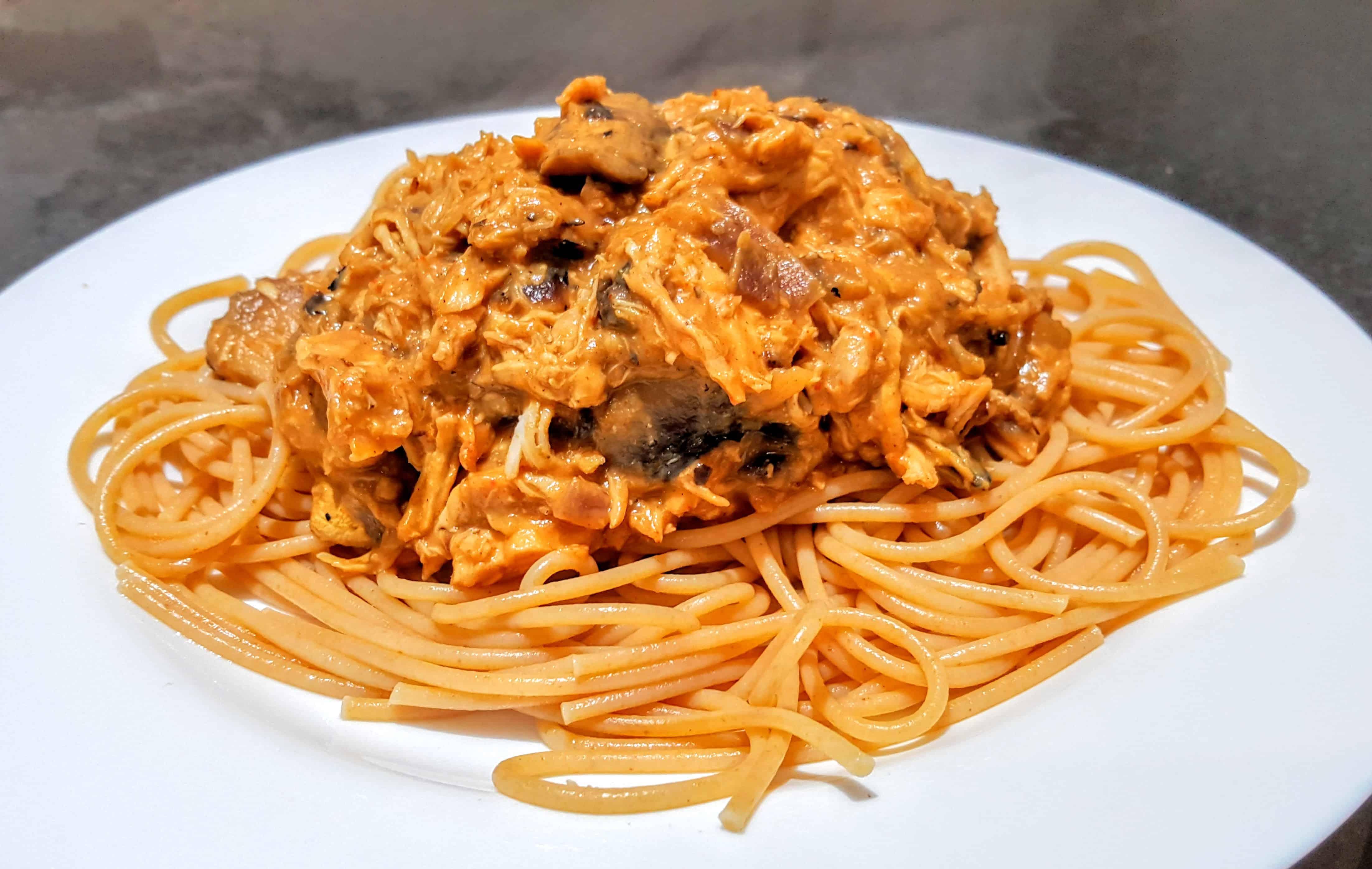 Slimming World Syn Free Chicken & Mushroom Stroganoff Recipe