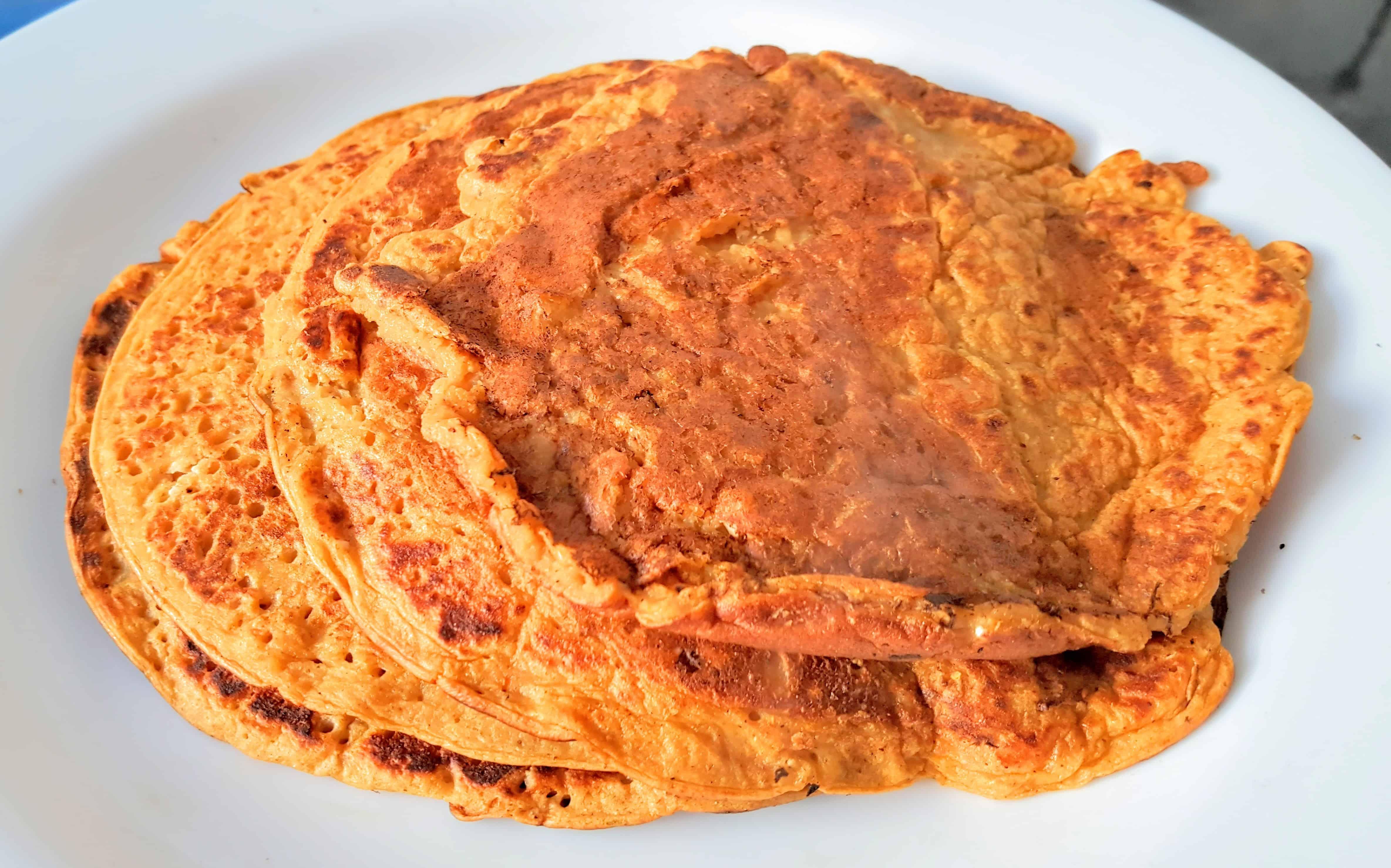 Leftover Vegetable Soup Savoury Pancakes Recipe (Non-SW)
