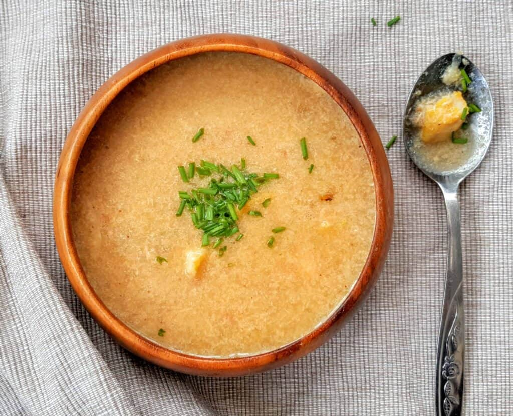 Syn Free Slimming World Fish Chowder Soup - Serves 4