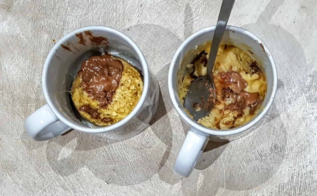 Slimming World Chocolate Chip Mug Cake Low Syn