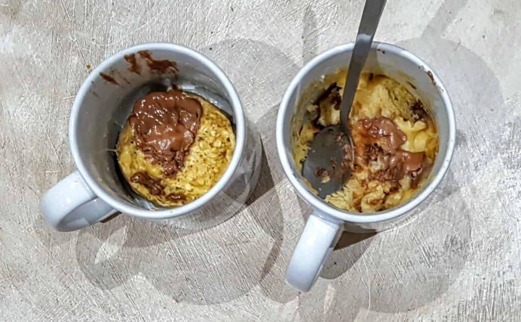 Slimming World Easter Egg Chocolate Chip Microwave Mug Cake – 4.5 Syns
