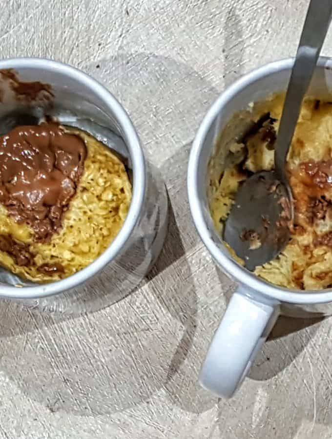 Slimming World Easter Egg Chocolate Chip Microwave Mug Cake - 4.5 Syns