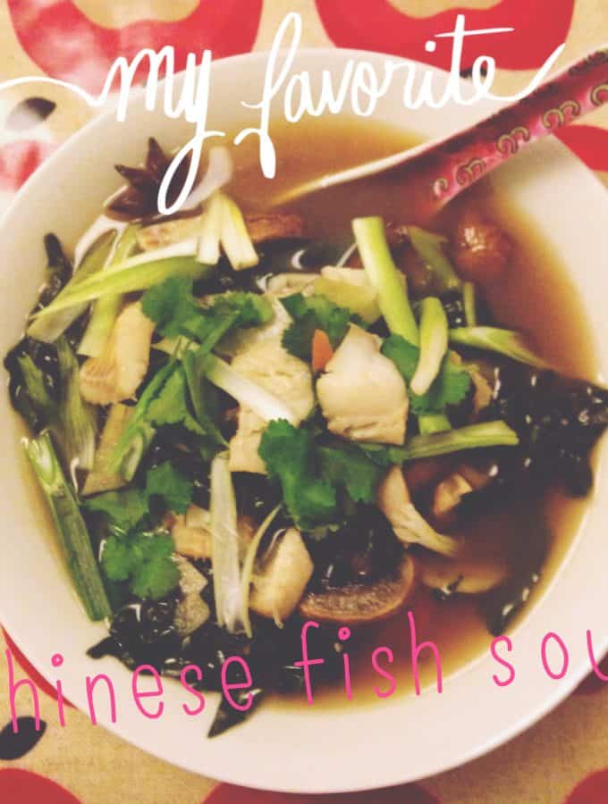 Guest Post: Tasty Slimming's Chinese Fish Soup with Rice Noodles Recipe