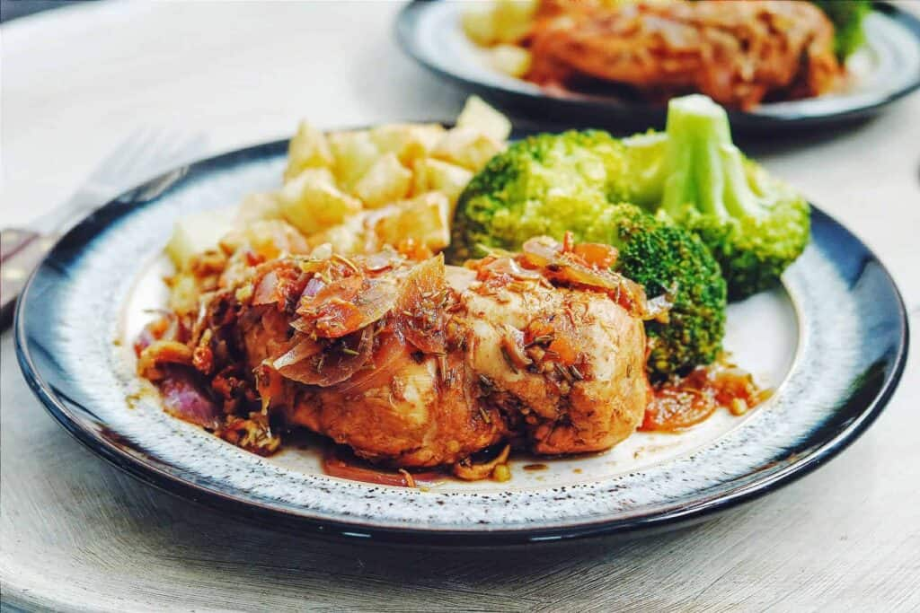Slimming World Syn Free Chicken Fricassee Recipe - Serves 4