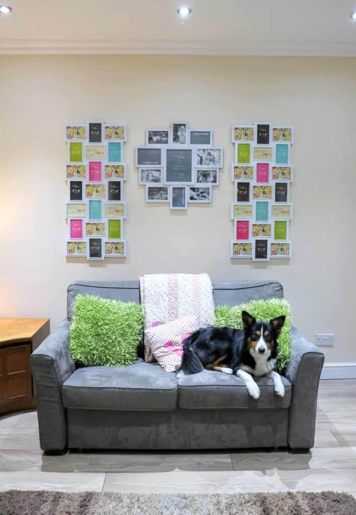 DIY Recycled Shabby Chic Denby Cup Display