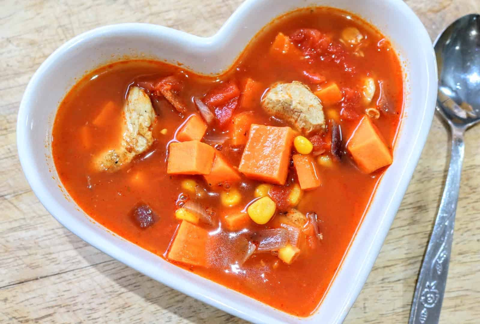Slimming World Chicken & Chorizo Soup Maker Recipe (1 Syn Per Serving)