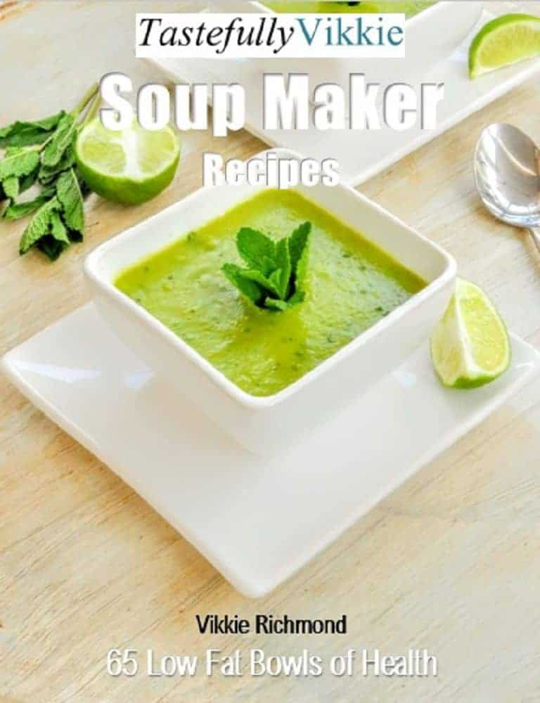 My Soup Maker eBook Has Finally Launched!