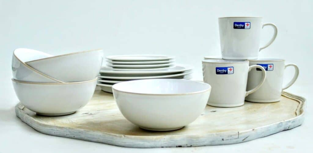 Denby's Latest 2016 Natural Canvas 16 Pc Tableware Set Unboxing