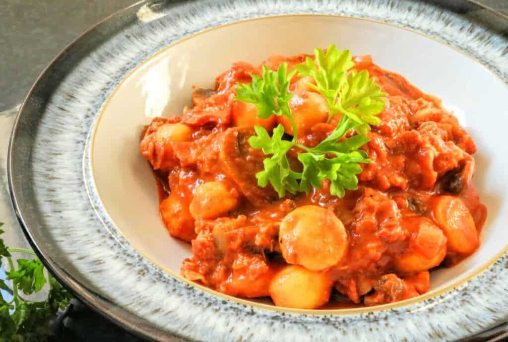 Slimming World Chorizo Gnocchi