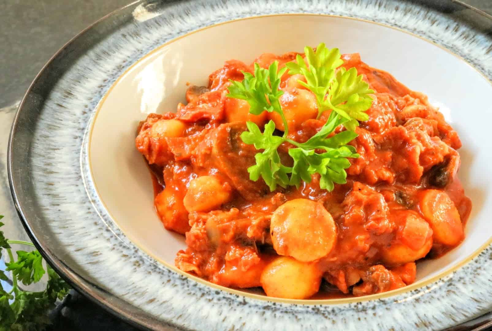Slimming World Chorizo Flavoured Gnocchi Pasta Recipe