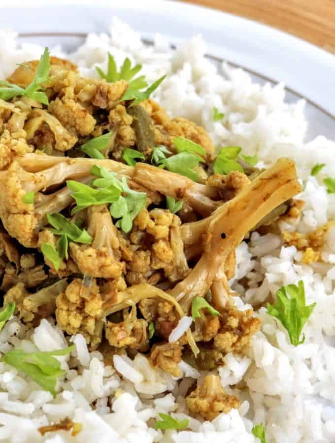 Syn Free SW Tuna & Cauliflower Slow Cooker Curry