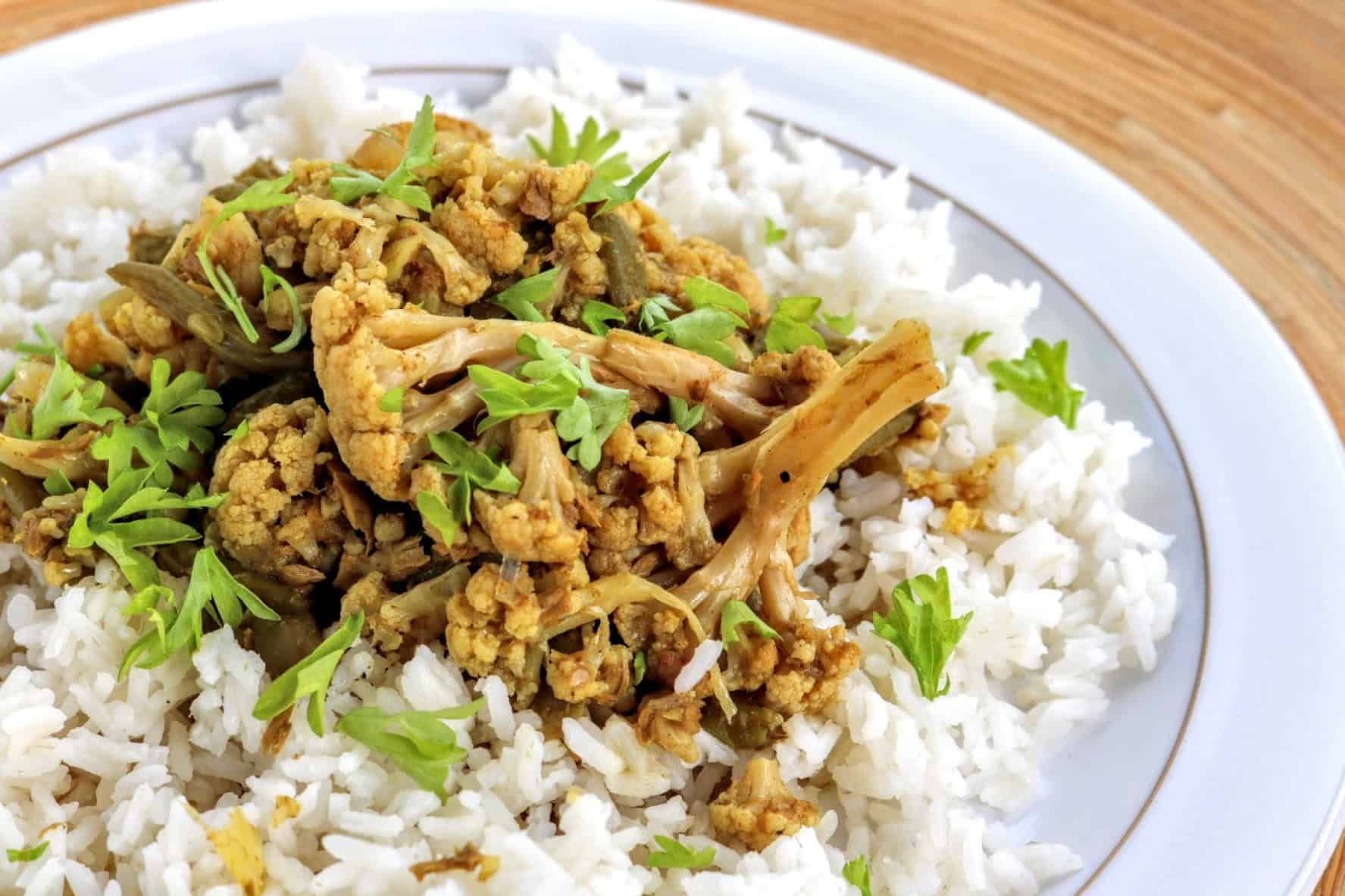 Syn Free SW Tuna & Cauliflower Slow Cooker Curry