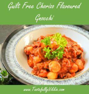 Guilt Free Chorizo Flavoured Gnocchi Recipe