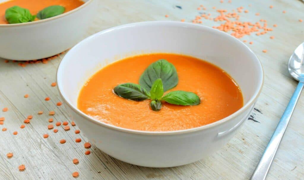 Yummy Sweet Potato & Red Lentil Soup Maker Recipe