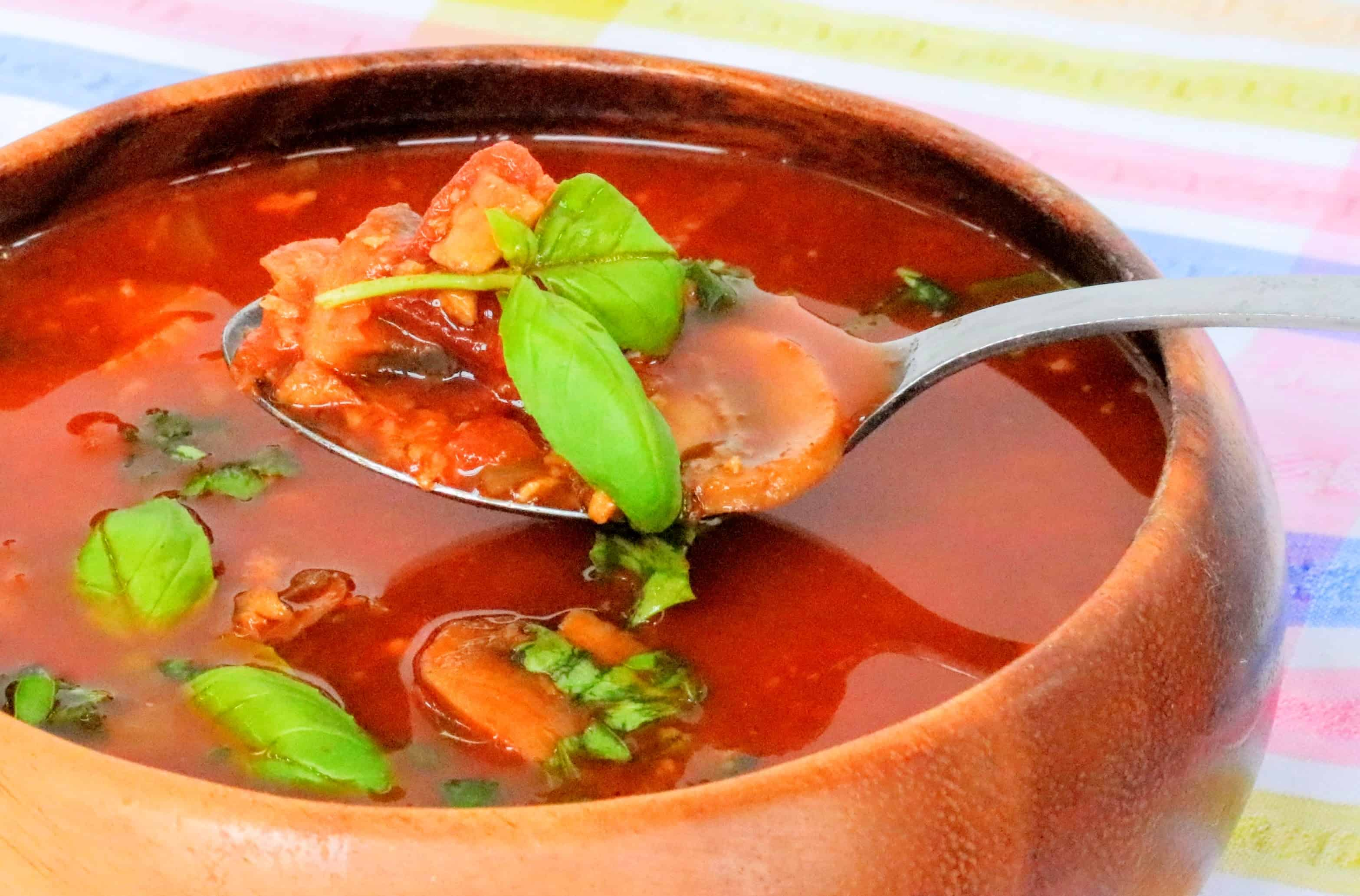 syn free slimming world chorizo soup maker recipe 3