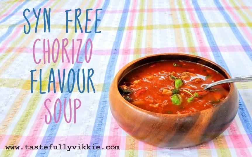 Slimming World Syn Free Chorizo Soup Recipe