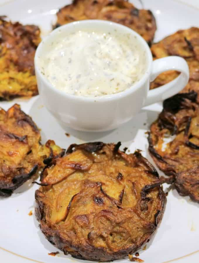 Slimming World Syn Free Baked Onion Bhajis