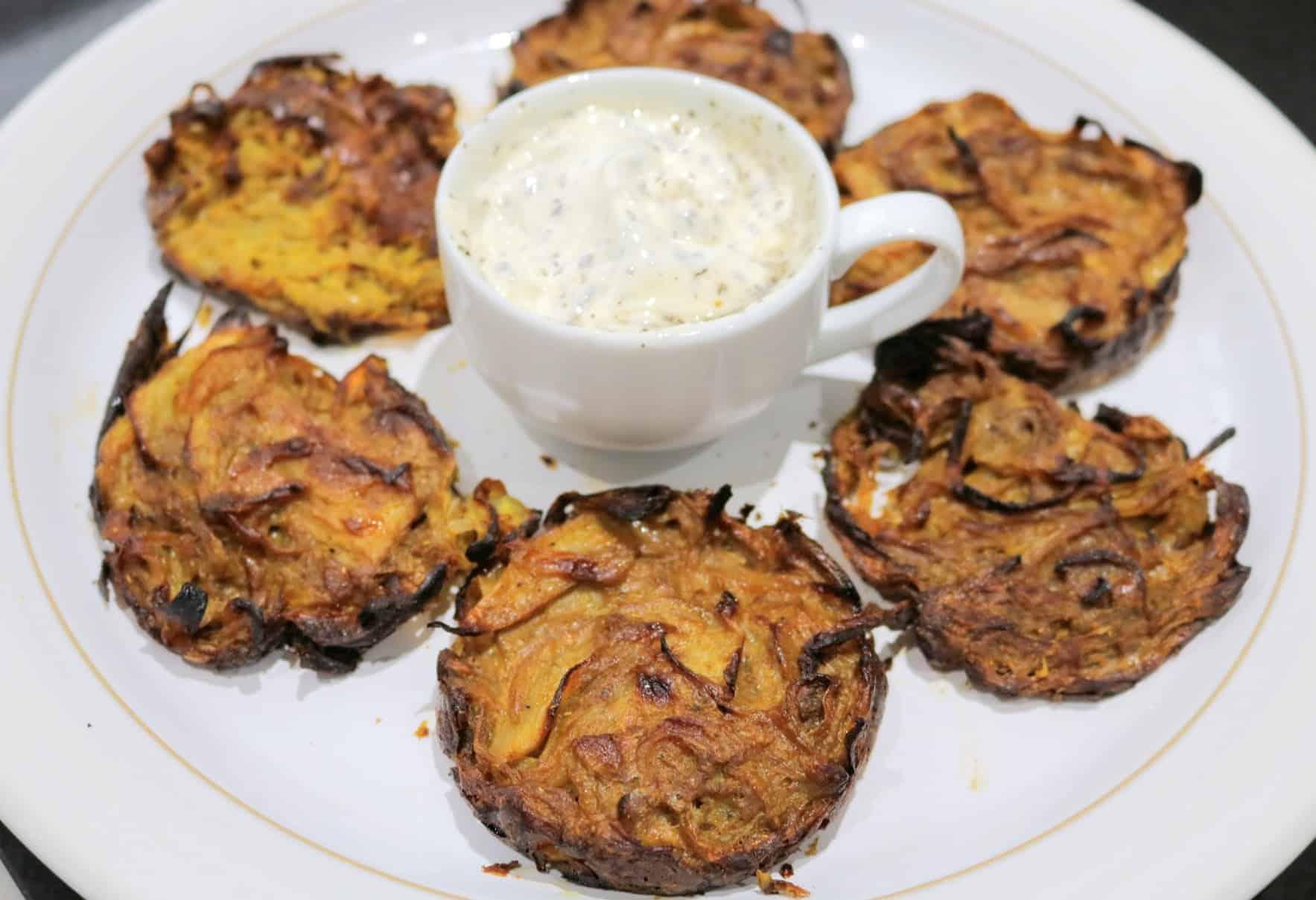 Slimming World Syn Free Baked Onion Bhajis