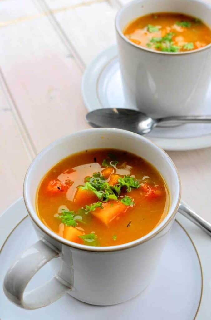 slimming world syn free chunky butternut squash soup maker recipe