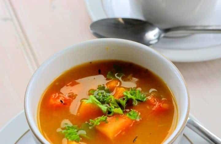 Syn Free Chunky Butternut Soup Maker Recipe