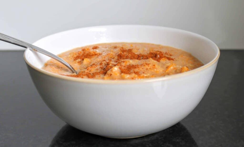 Syn Free Slimming World Carrot & Parsnip Spiced Porridge
