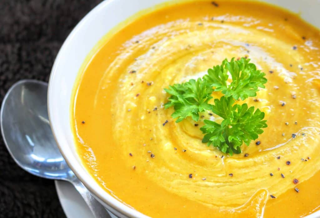 Slimming World Syn Free Curried Cauliflower Soup Maker Recipe