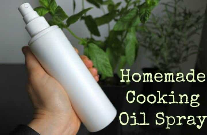 How to Make Your Own Cooking Oil Spray