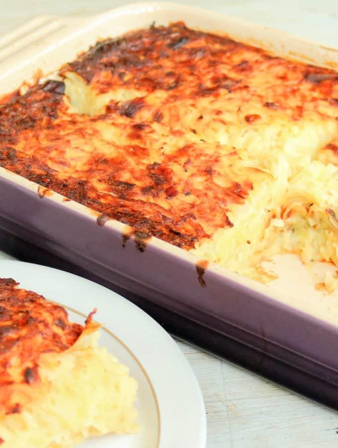 Slimming World Syn Free Jewish Potato Kugel (Vegetarian)