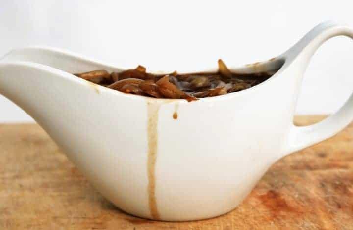 Slimming World Syn Free Onion Gravy